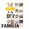 Familia Poster Calendar